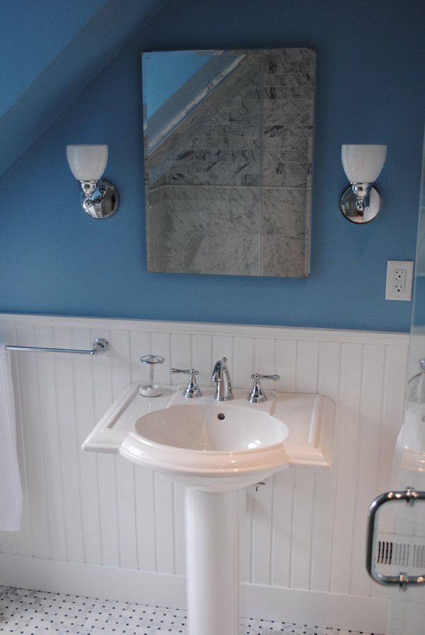 Historic Guest Bath In Cedarcroft Greenleaf Construction