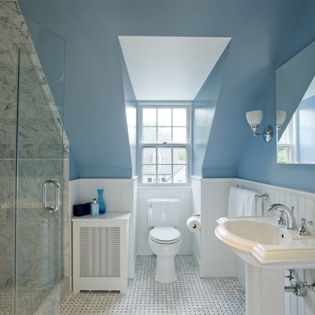 Historic Guest Bath in Cedarcroft