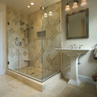 Historic Master Bath in Cedarcroft