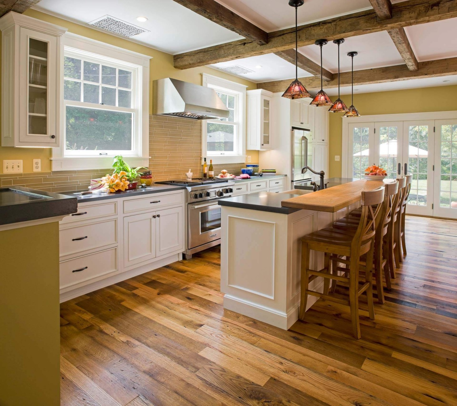 historic kitchen design. Historic Farmhouse  Greenleaf Construction