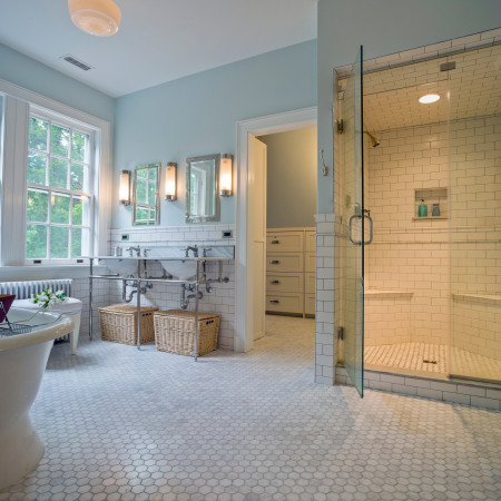 Mt. Washington Vintage Master Bath